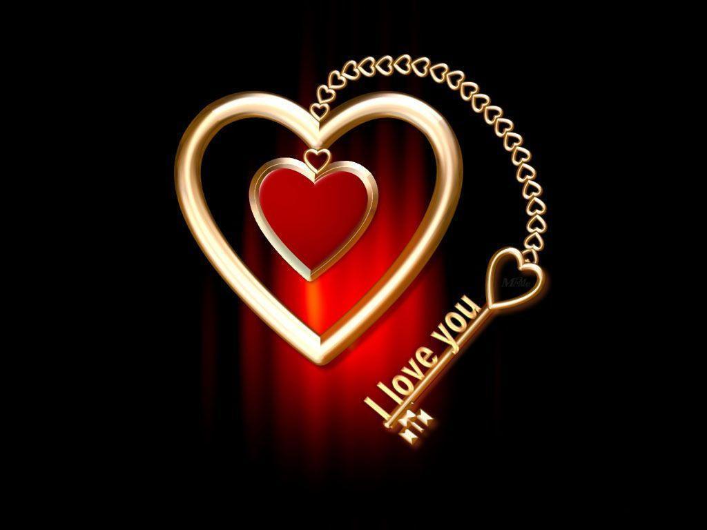 I love you key heart wallpaper - JoJo PixJoJo Pix