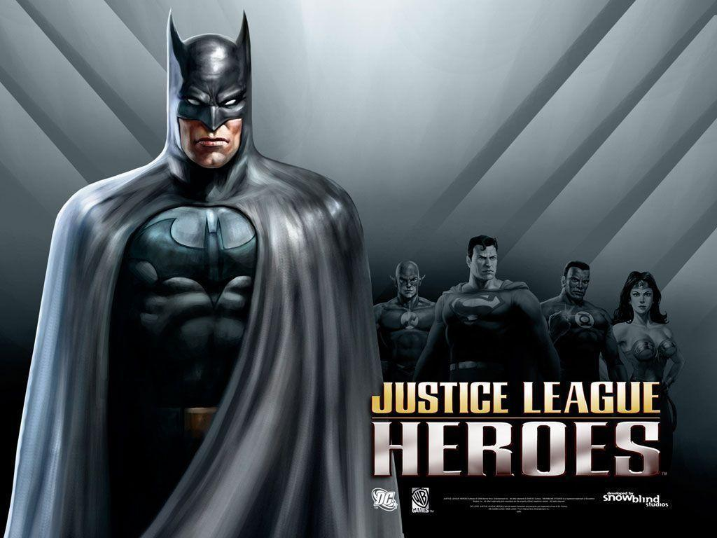 Desktop Wallpapers · Gallery · Games · Justice League Heroes