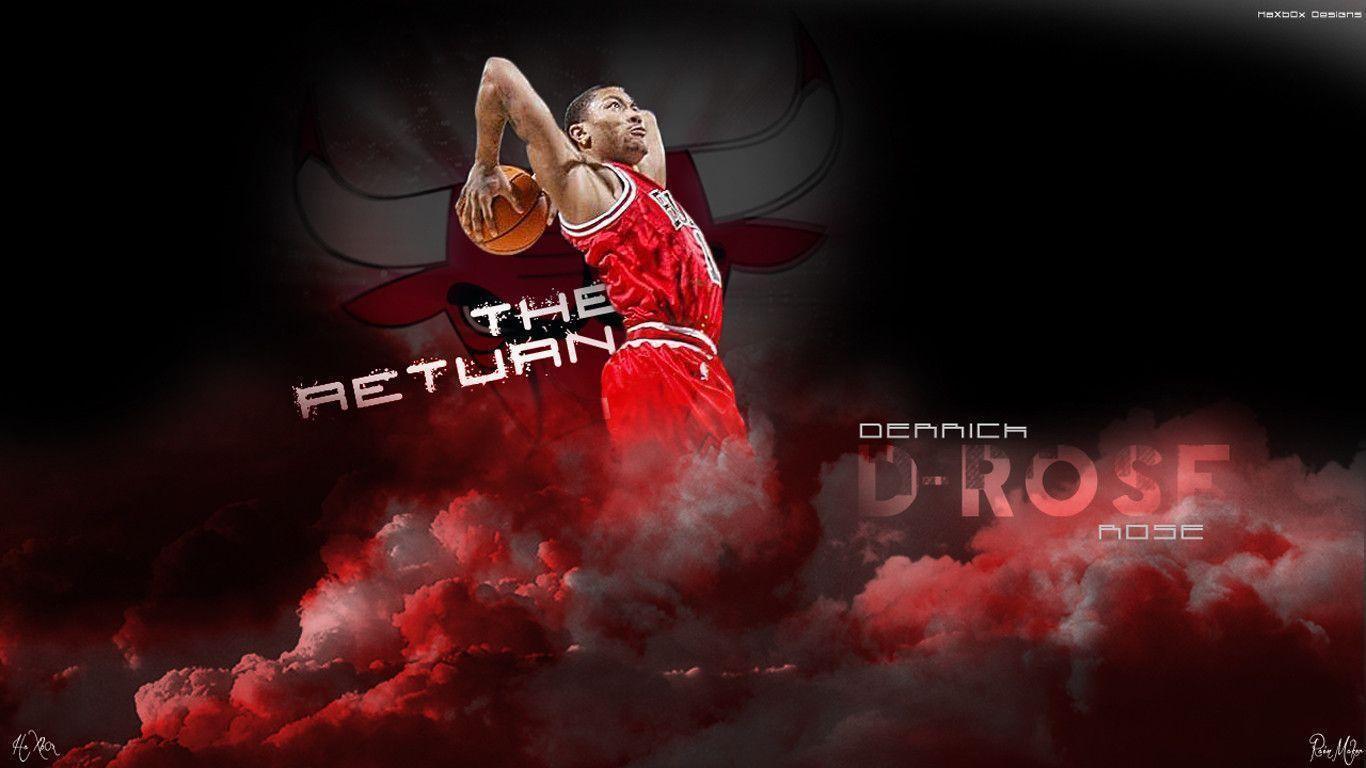 derrick rose wallpaper dunk - photo #17