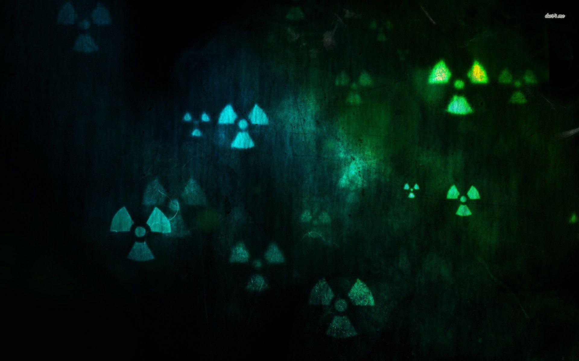 radioactive symbol wallpapers wallpaper cave