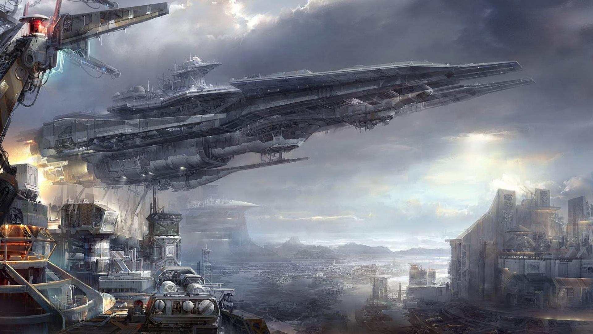 Spaceship Wallpaper 1920X1080 Hd Images 3 HD Wallpapers | aduphoto.