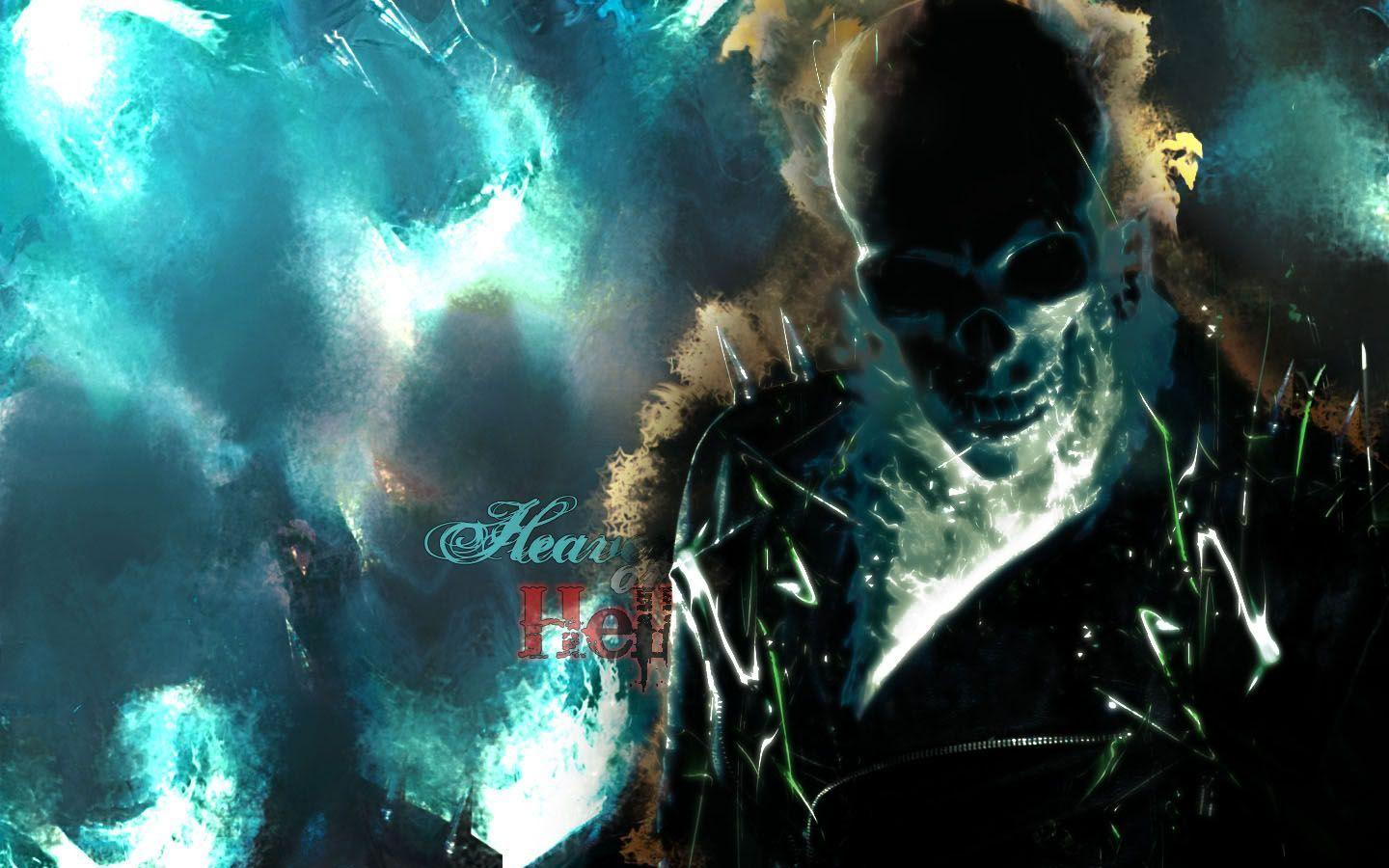 Image For > Blue Ghost Rider Wallpapers Hd