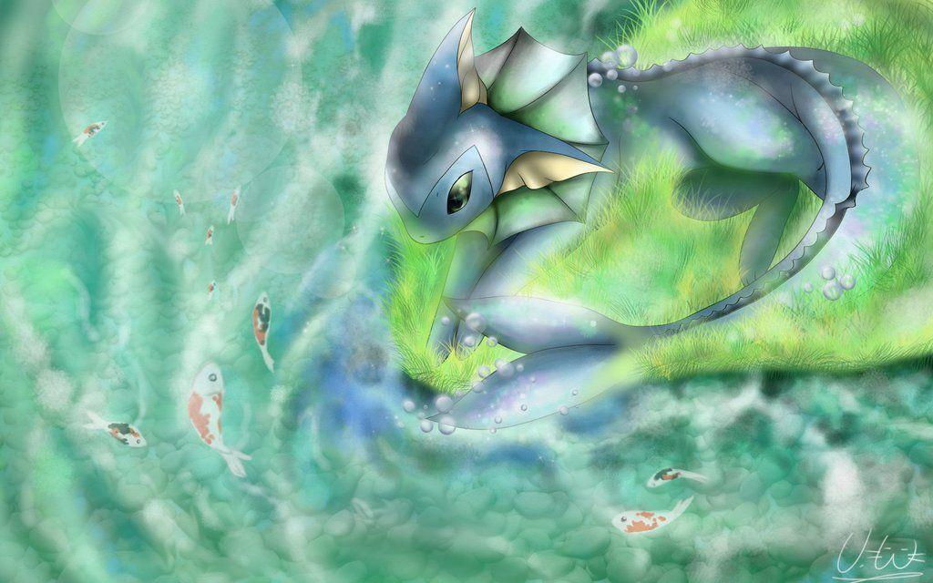 Vaporeon Wallpapers by MissCaptainNemo