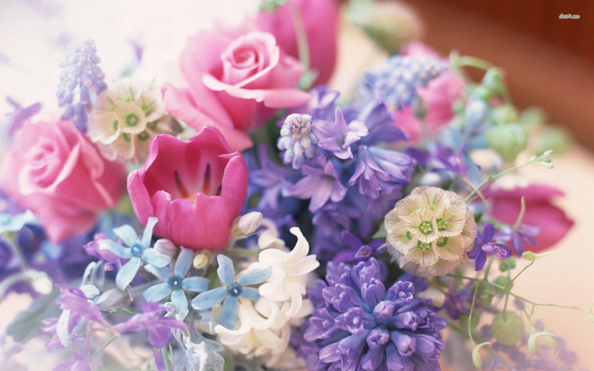 happy birthday bouquet wallpaper - photo #34