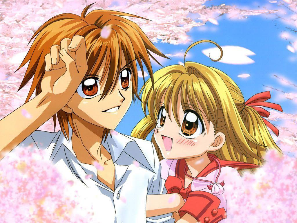 Images For Cute Anime Couple Wallpaper Mobile