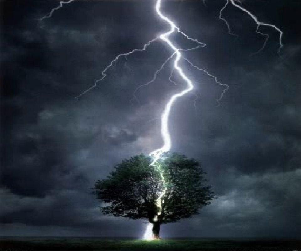 Lightning Storm nature cell phone wallpapers download free