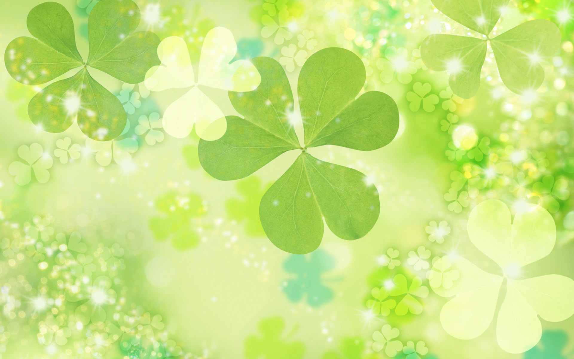 patricks day shamrock background - photo #38