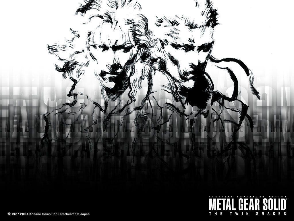 Metal Gear Solid Backgrounds