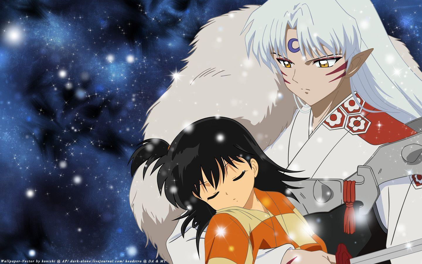 with you sesshomaru wallpaper 30293514 fanpop