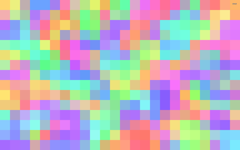 1230 Pastel Squares 2880x1800