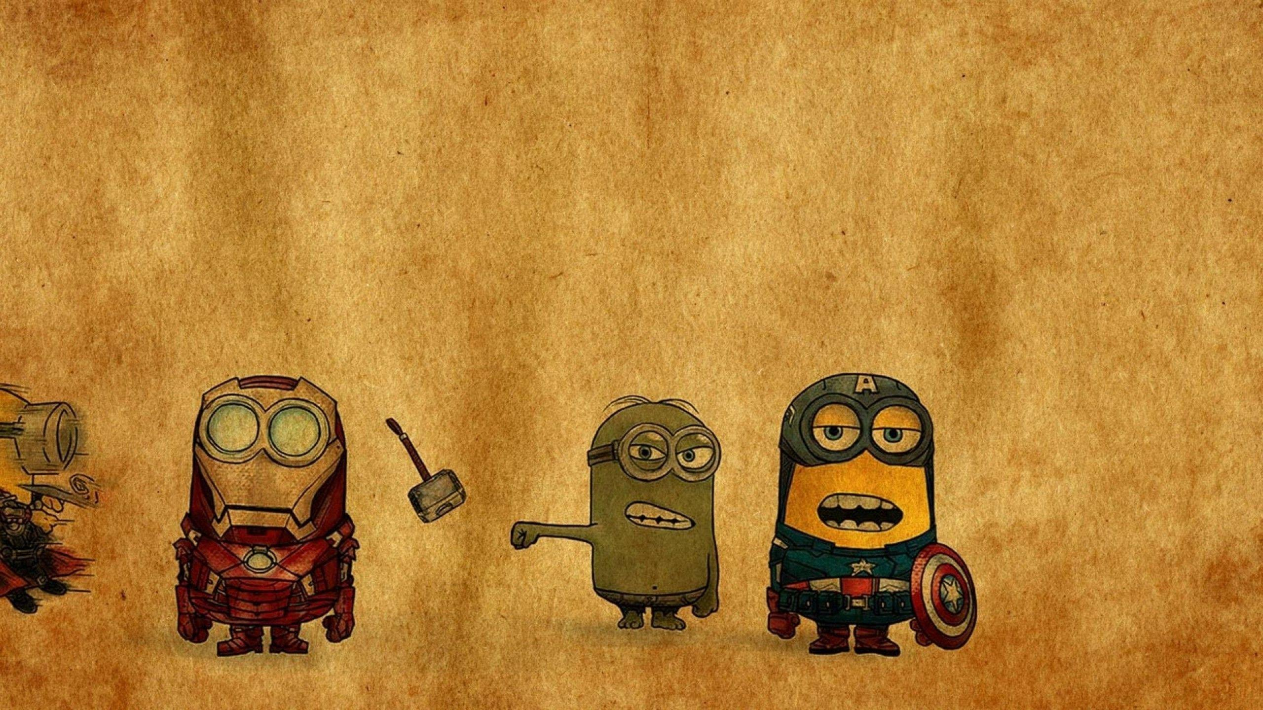 Avenger minions Wallpaper #