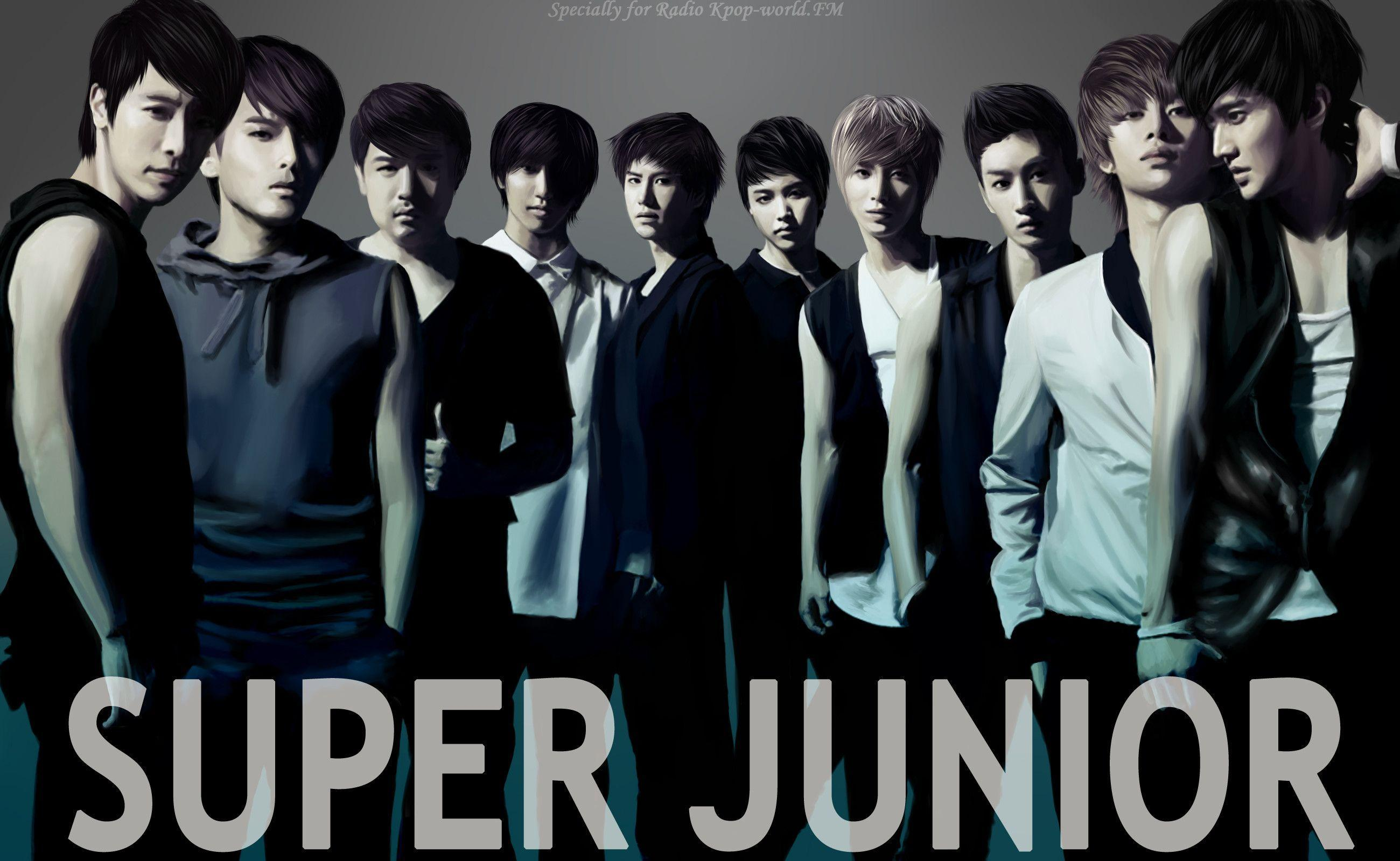 Super Junior 2015 Wallpapers Wallpaper Cave