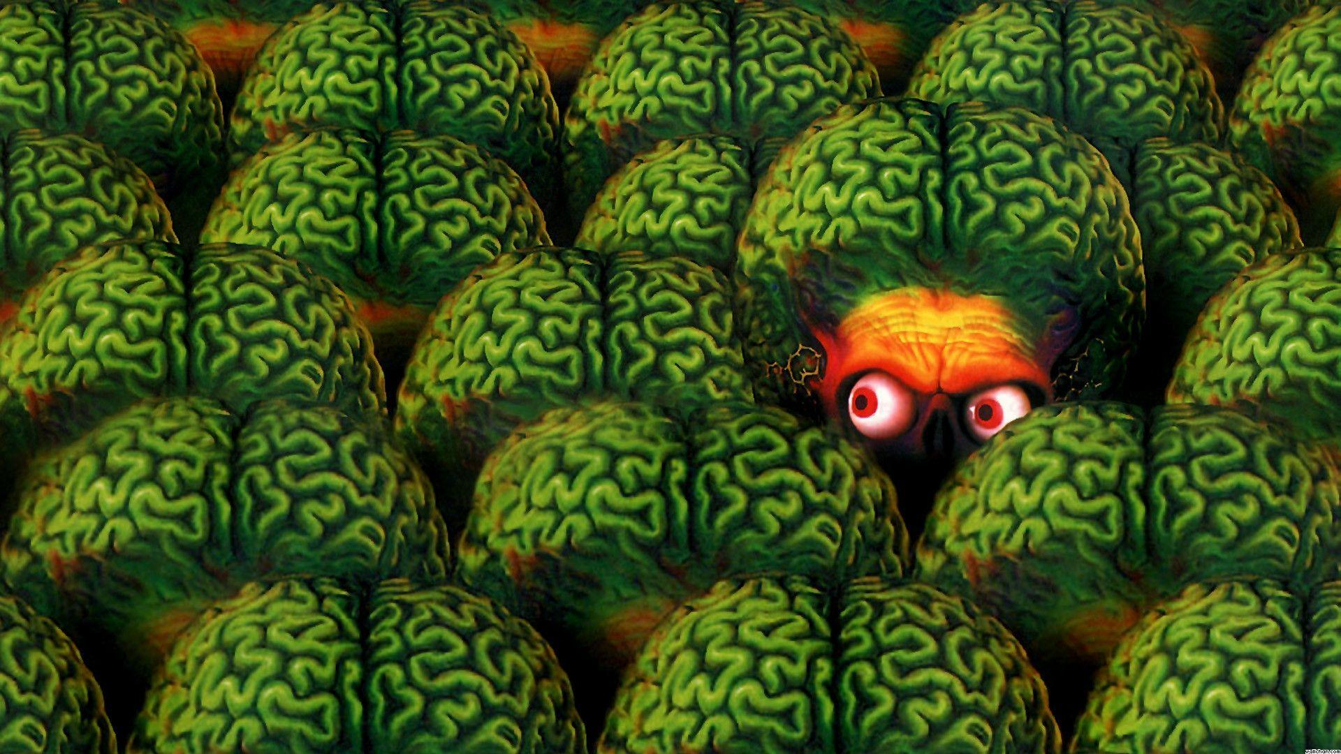 Mars Attacks Wallpapers Wallpaper Cave