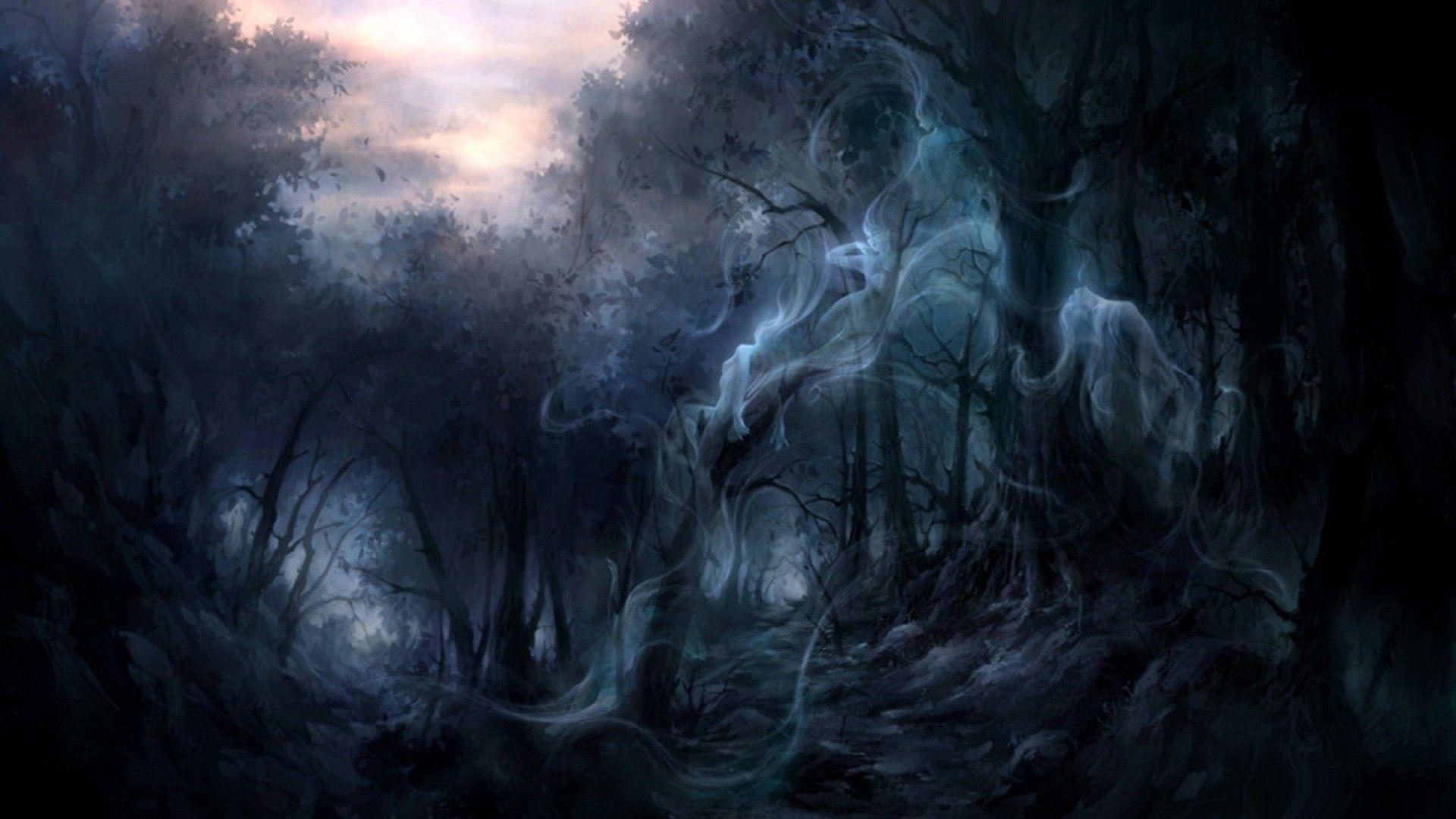 Wallpapers For > Dark Forest Hd Wallpapers