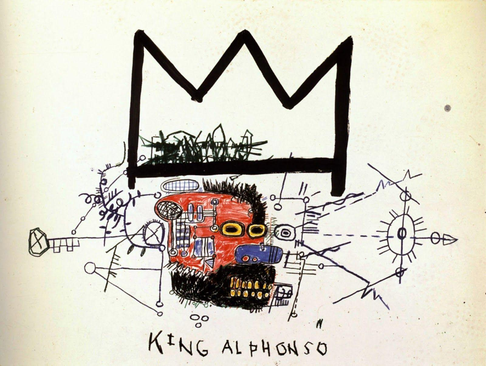 Images For > Jean Michel Basquiat Wallpaper Crown