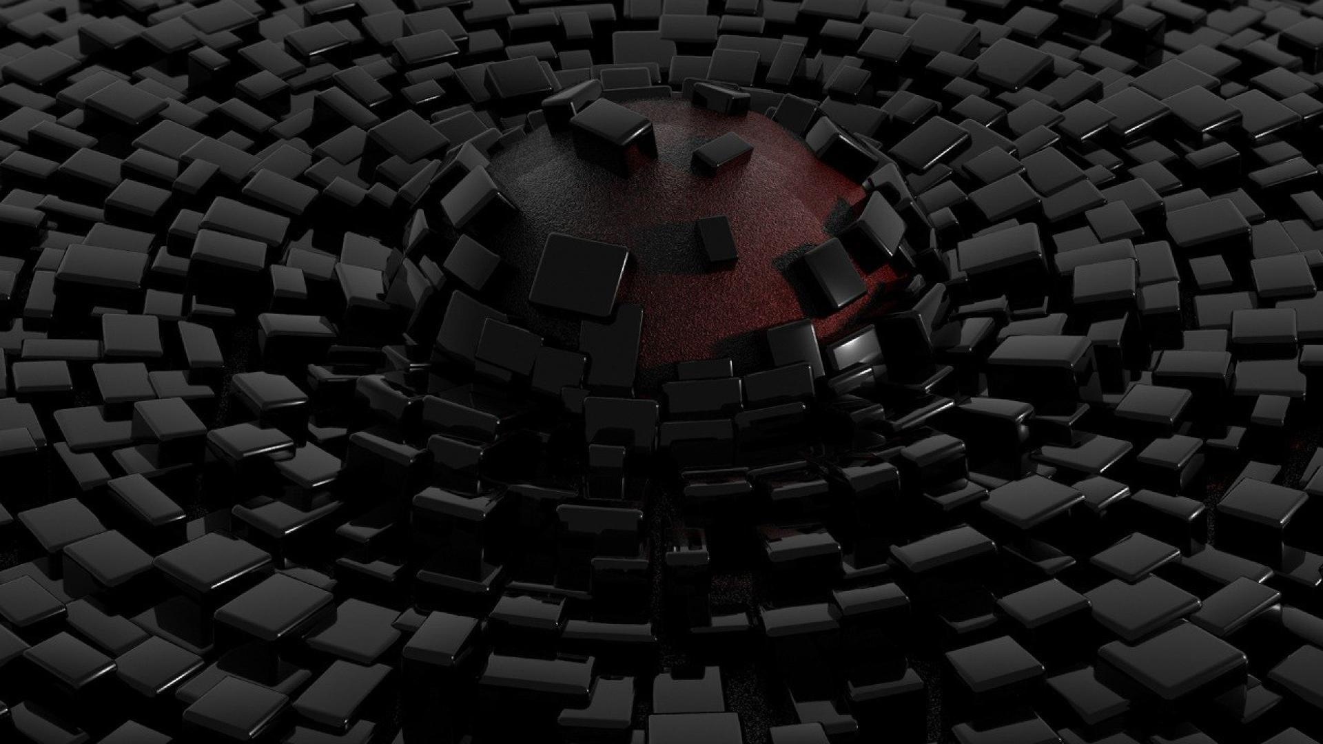 Black abstract wallpapers wallpaper cave for Black 3d wallpaper