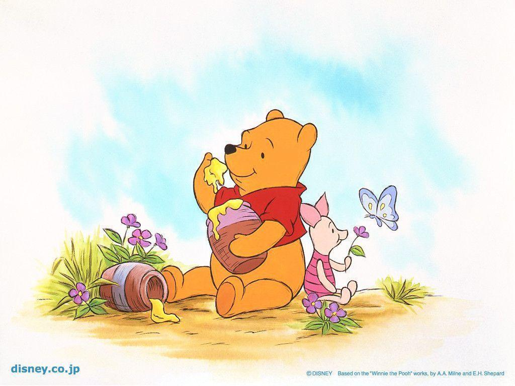 Wallpapers For > Original Winnie The Pooh Wallpaper