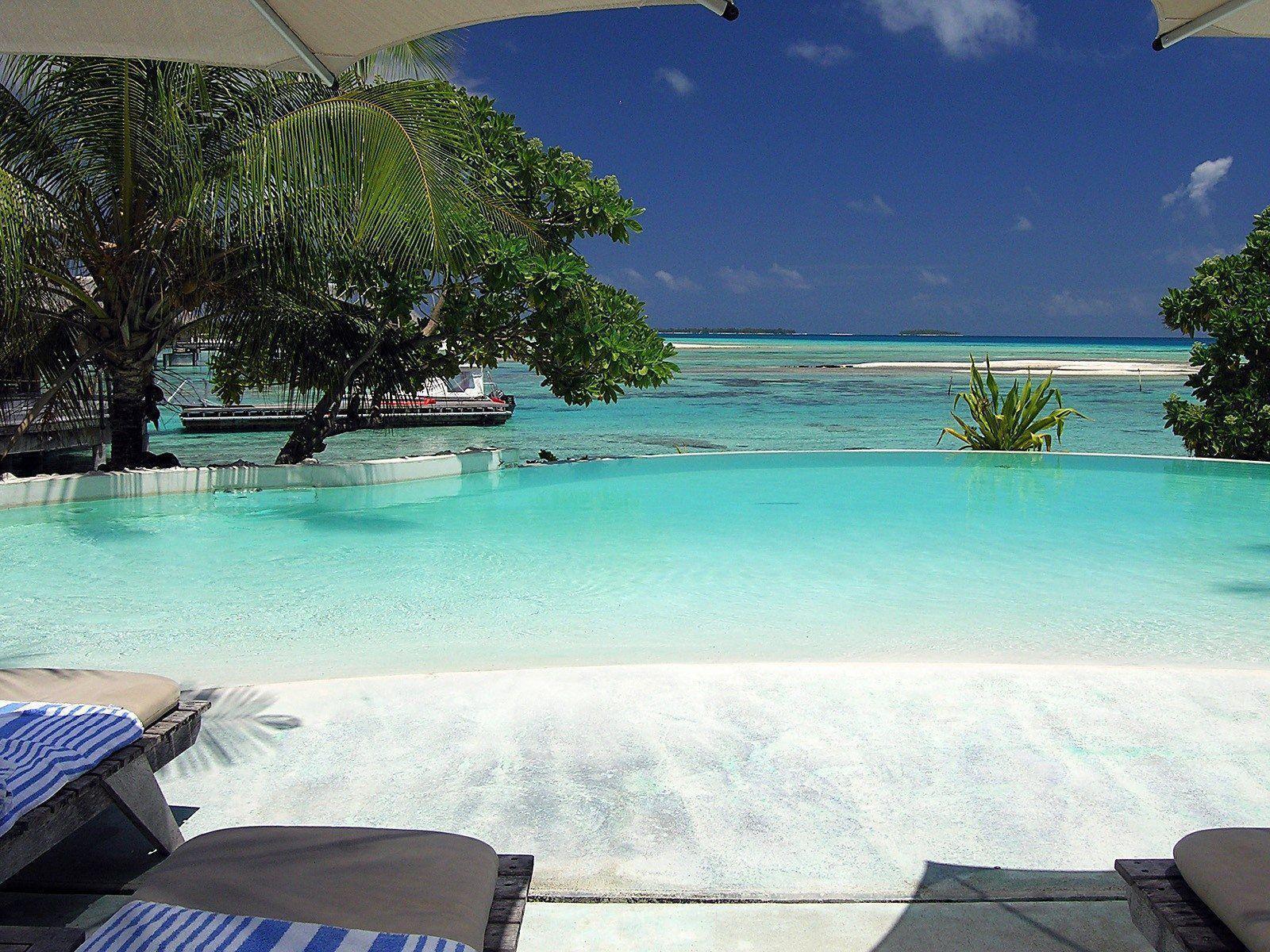 Hd Tropical Island Beach Paradise Wallpapers And Backgrounds: Tropical Backgrounds For Computer