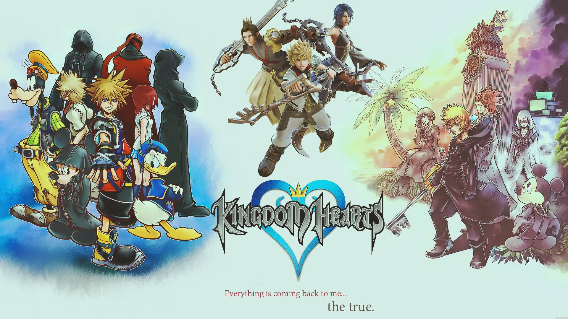 kingdom hearts background - photo #7