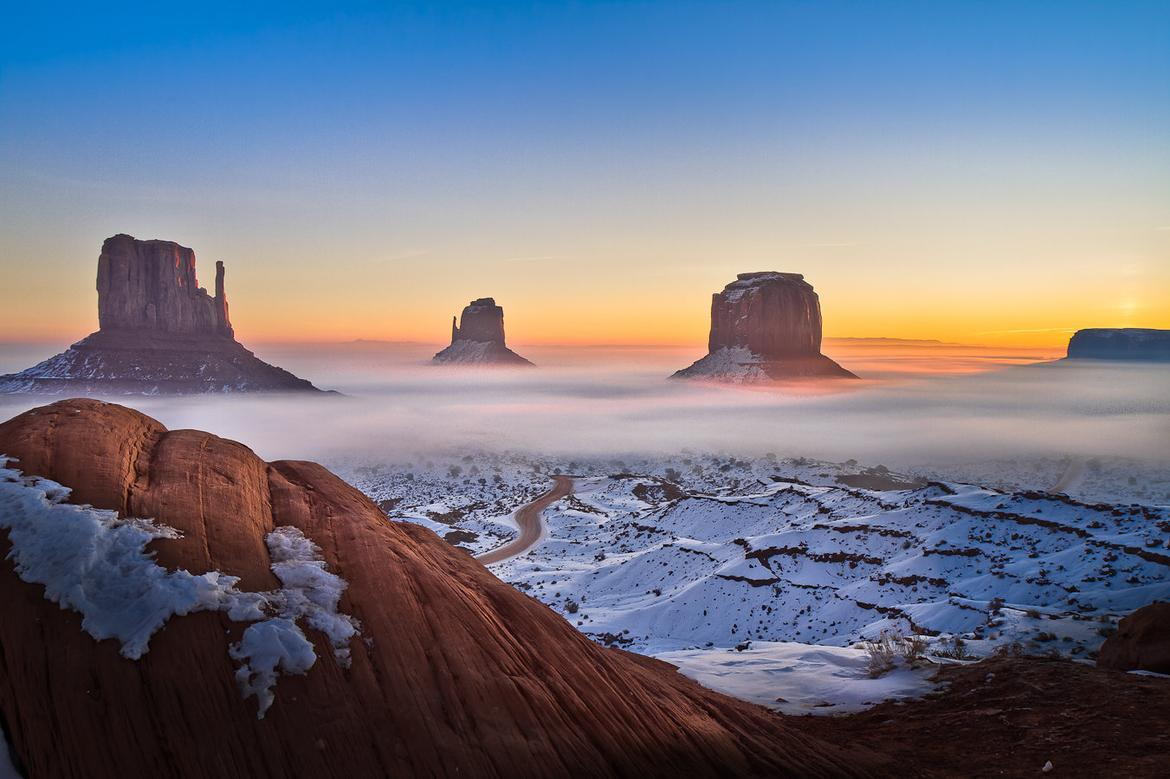 Sunrise Monument Valley Wallpapers