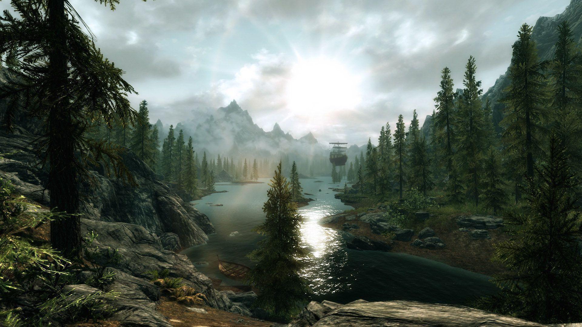 dragon landscape scenic wallpaper - photo #11