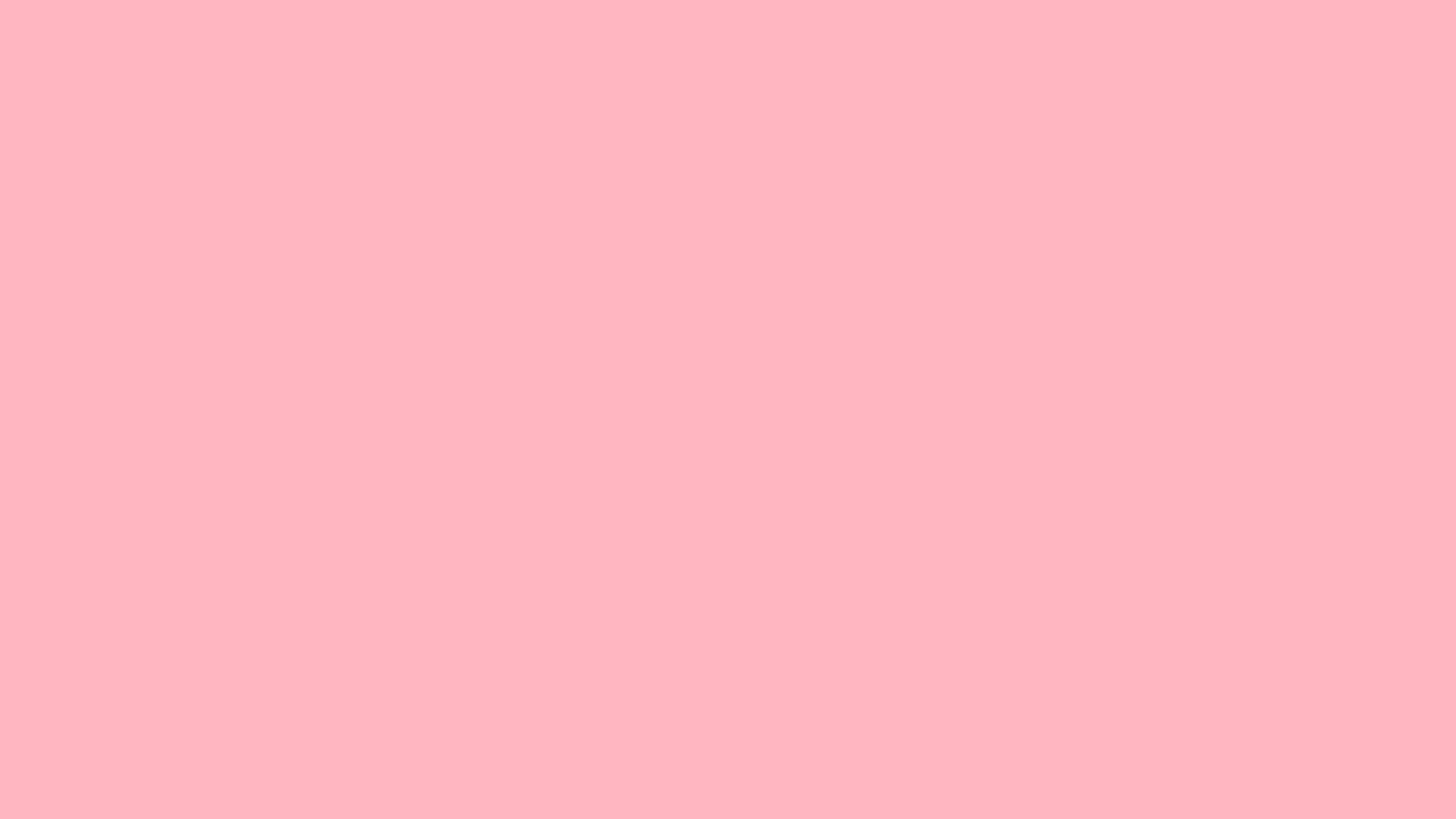 2560x1440 Light Pink Solid Color Background