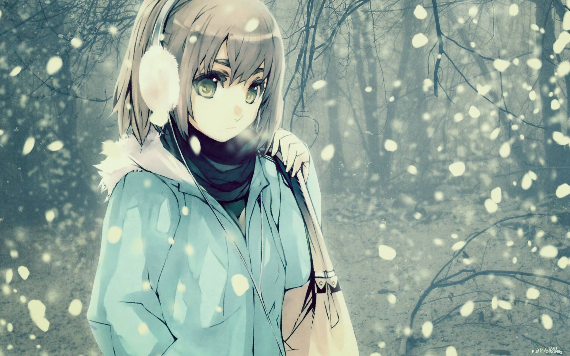 Sad Love Animation Wallpaper : Winter Anime Wallpapers - Wallpaper cave