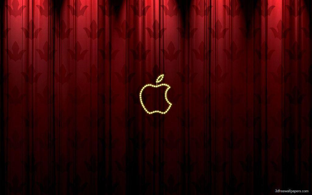 apple wallpapers red