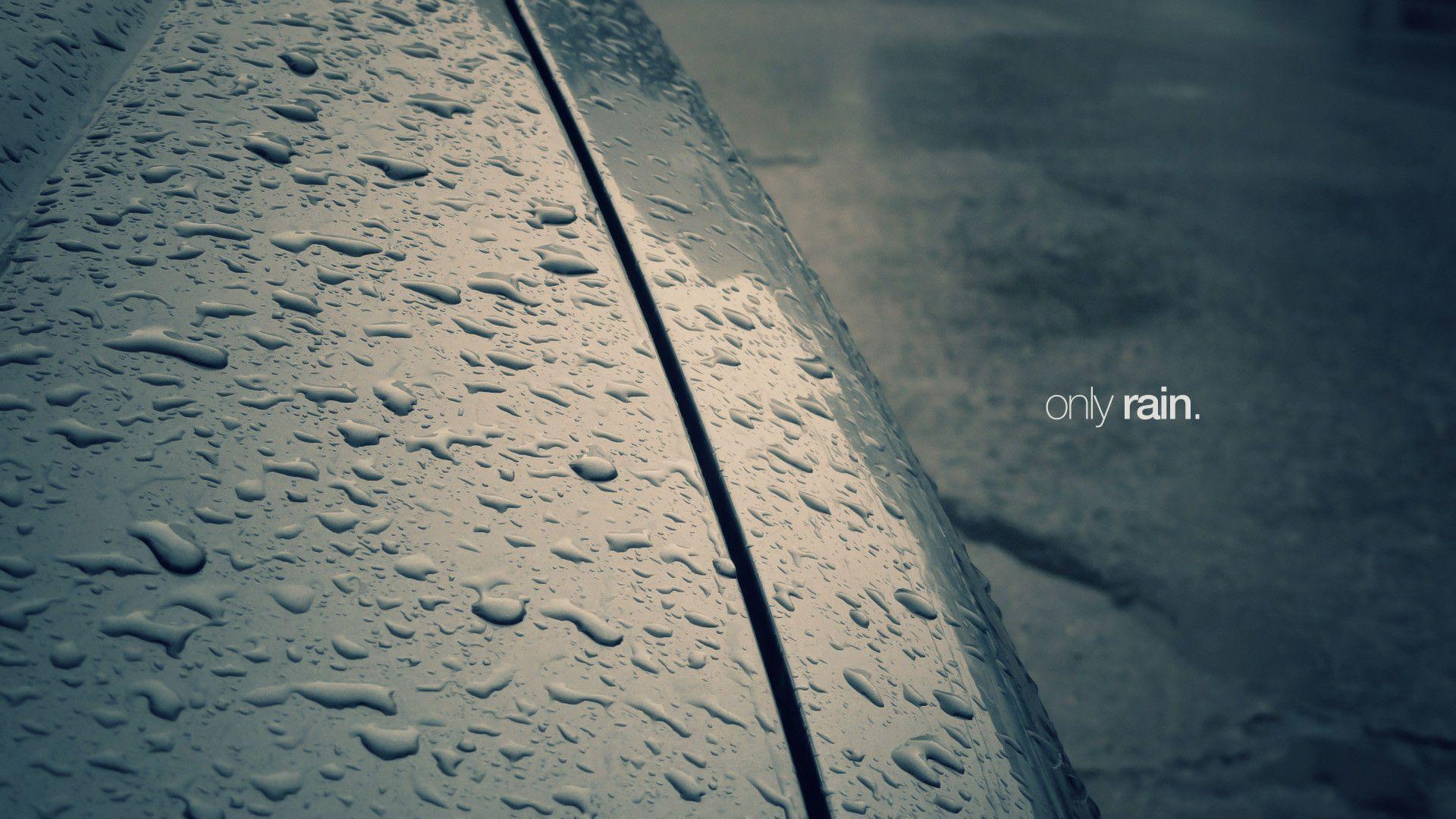 Only Rain HD Wallpaper | Theme Bin - Customization, HD Wallpapers ...