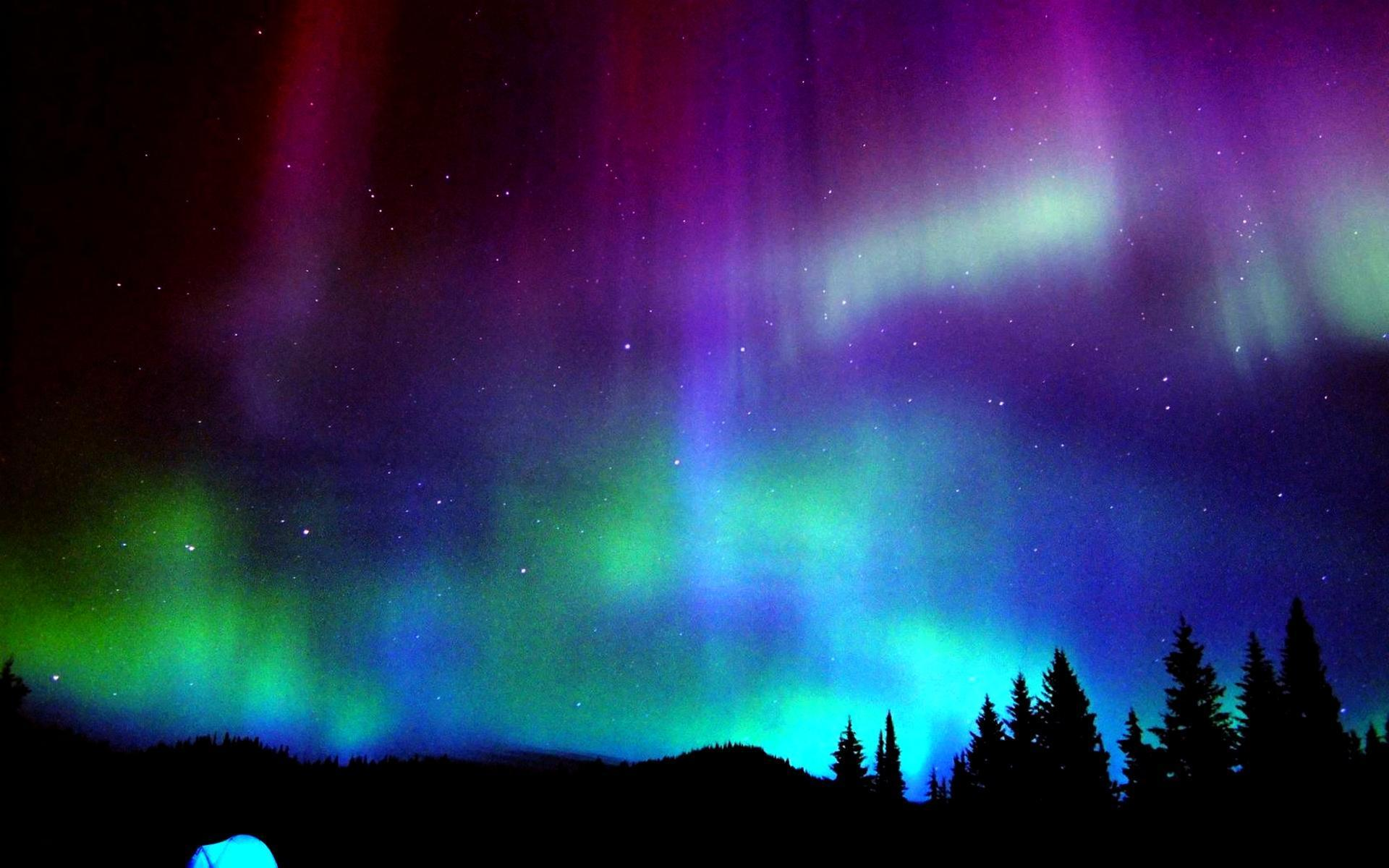 purple aurora borealis wallpapers x - photo #10