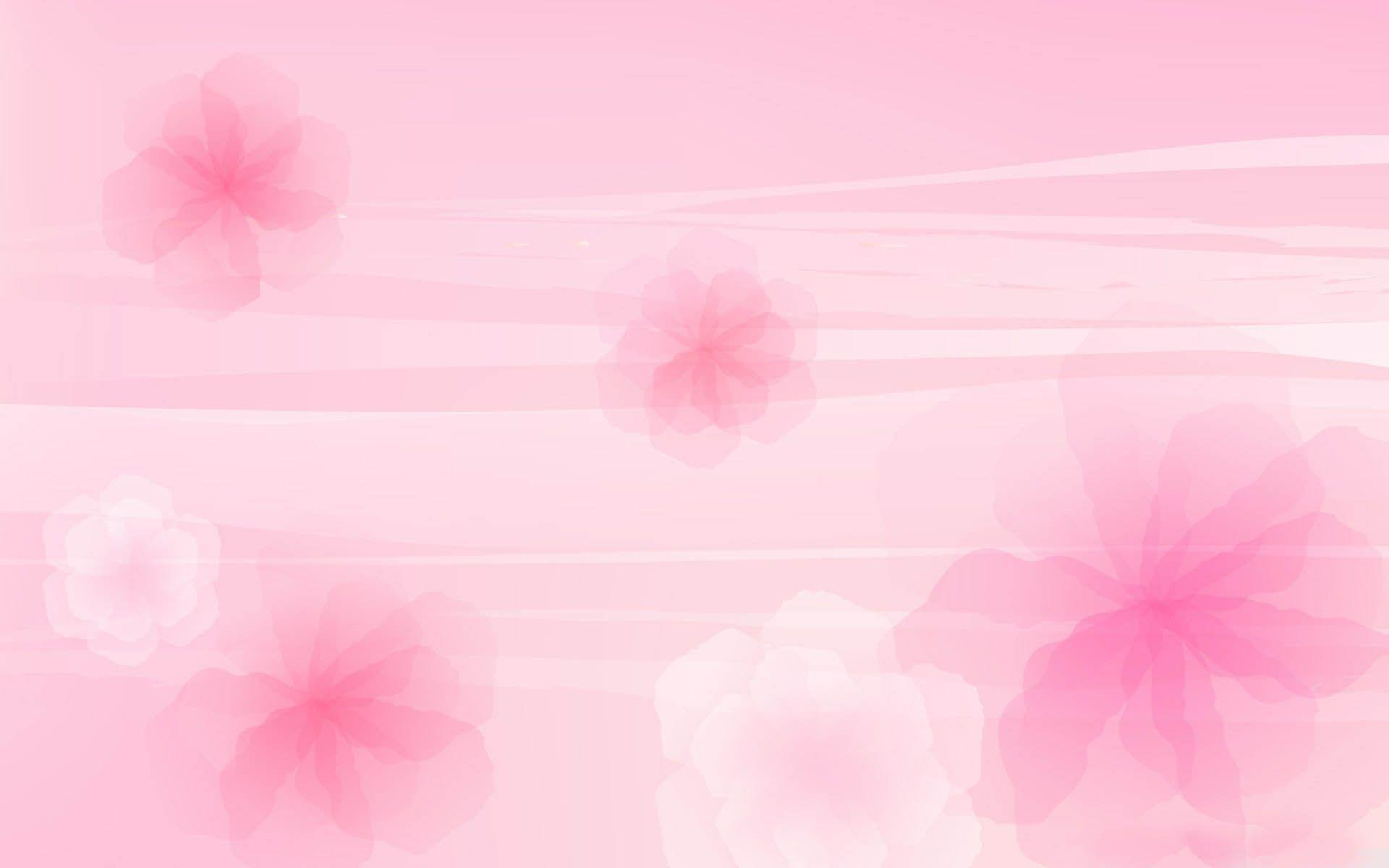 light pink floral background - photo #3