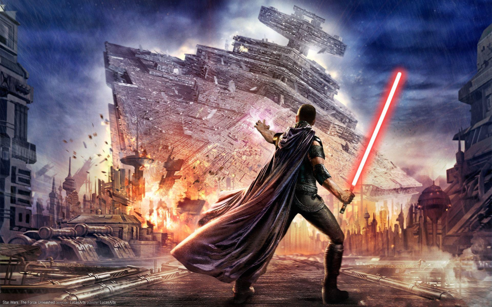 Star Wars The Force Unleashed wallpaper - 601732