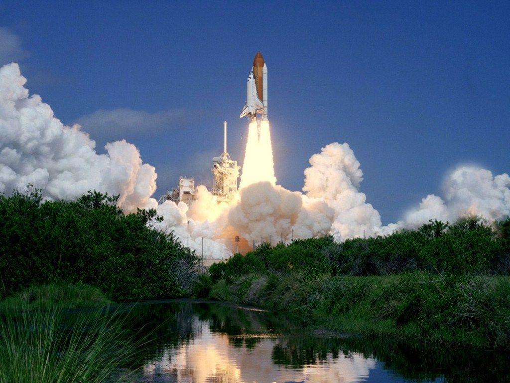 Space Shuttle Launch Wallpapers 4