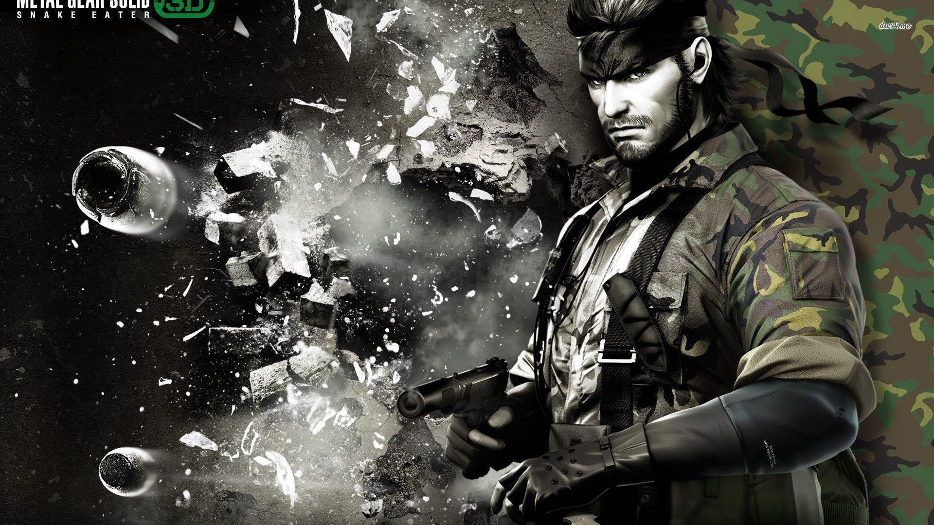Metal Gear Solid Wallpapers Hd Wallpaper Cave