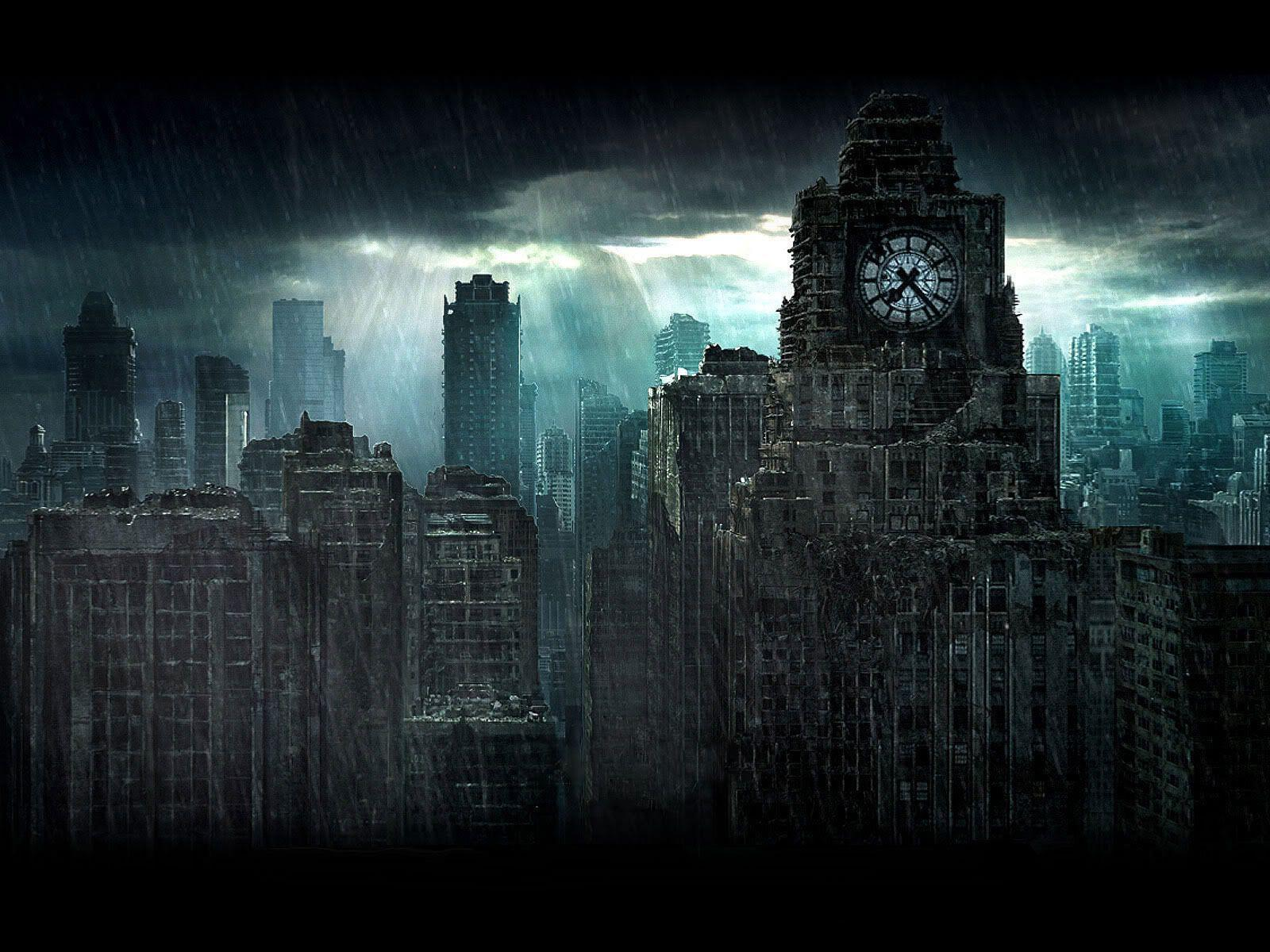 Gotham City Background Wallpaper 26945 Hi-Resolution | Best Free JPG