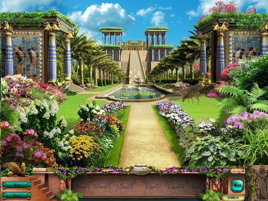 Hanging Gardens Of Babylon Wallpapers Wallpaper Cave