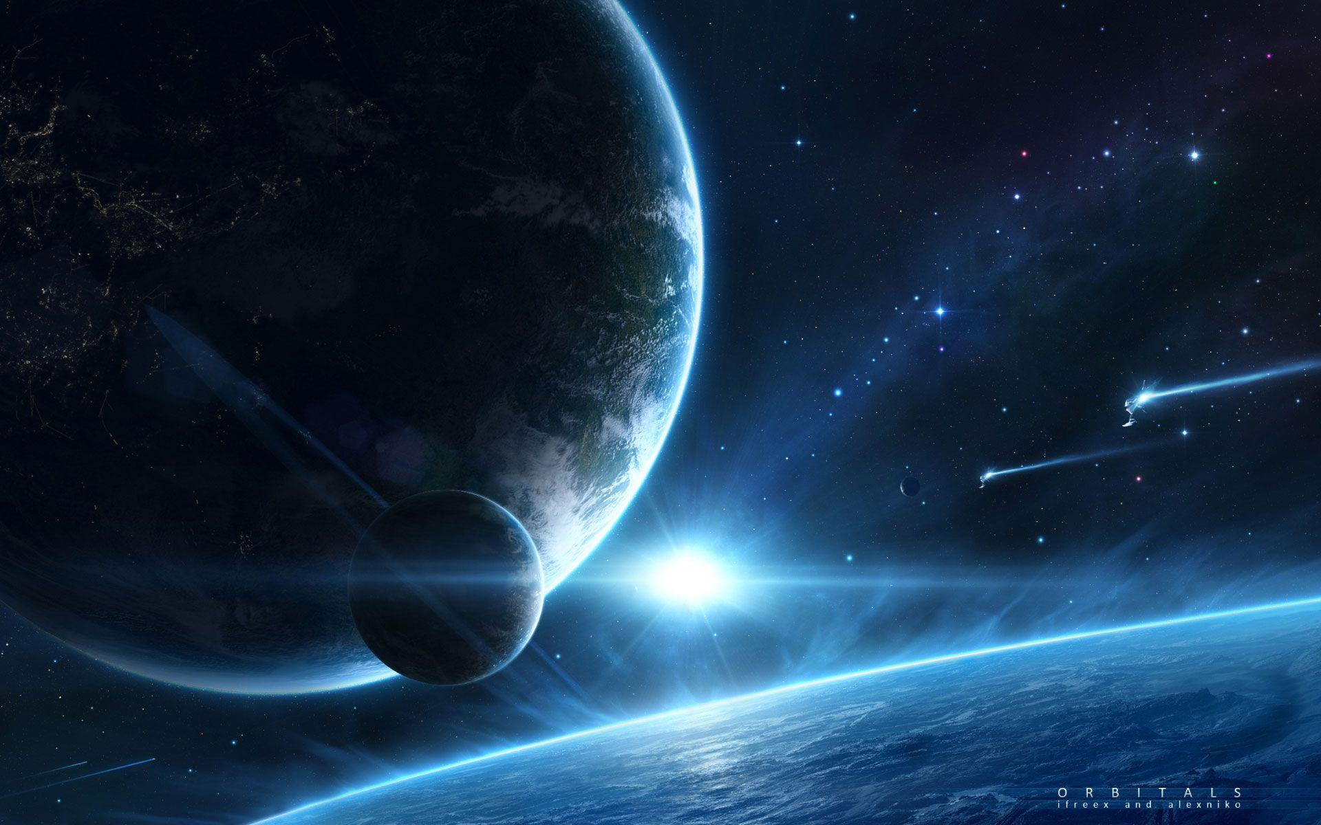 earth space wallpaper pc - photo #15