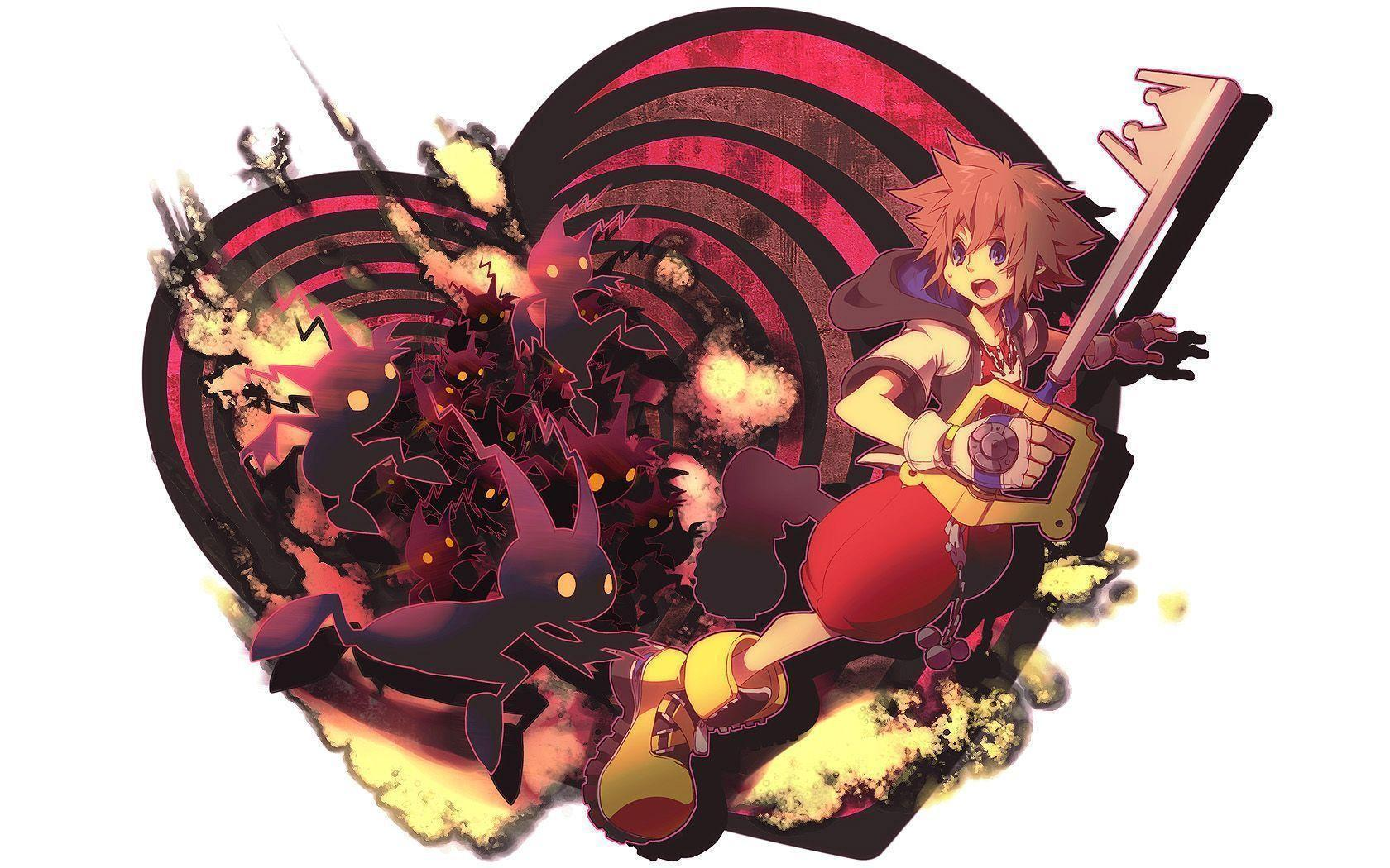 Images For > Kingdom Hearts Heartless Wallpaper