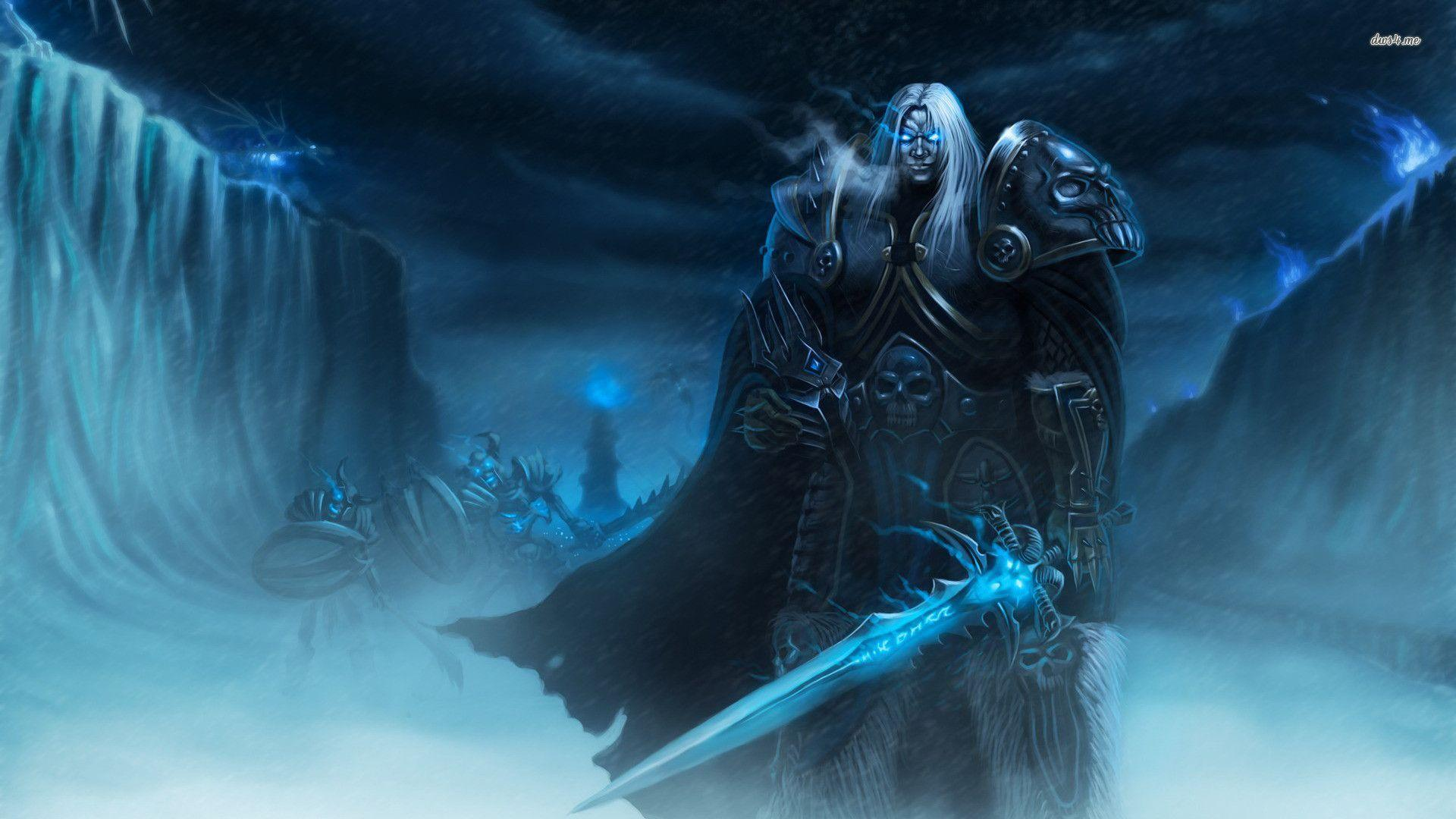 Arthas Menethil – World of Warcraft wallpapers 1920x1080 px