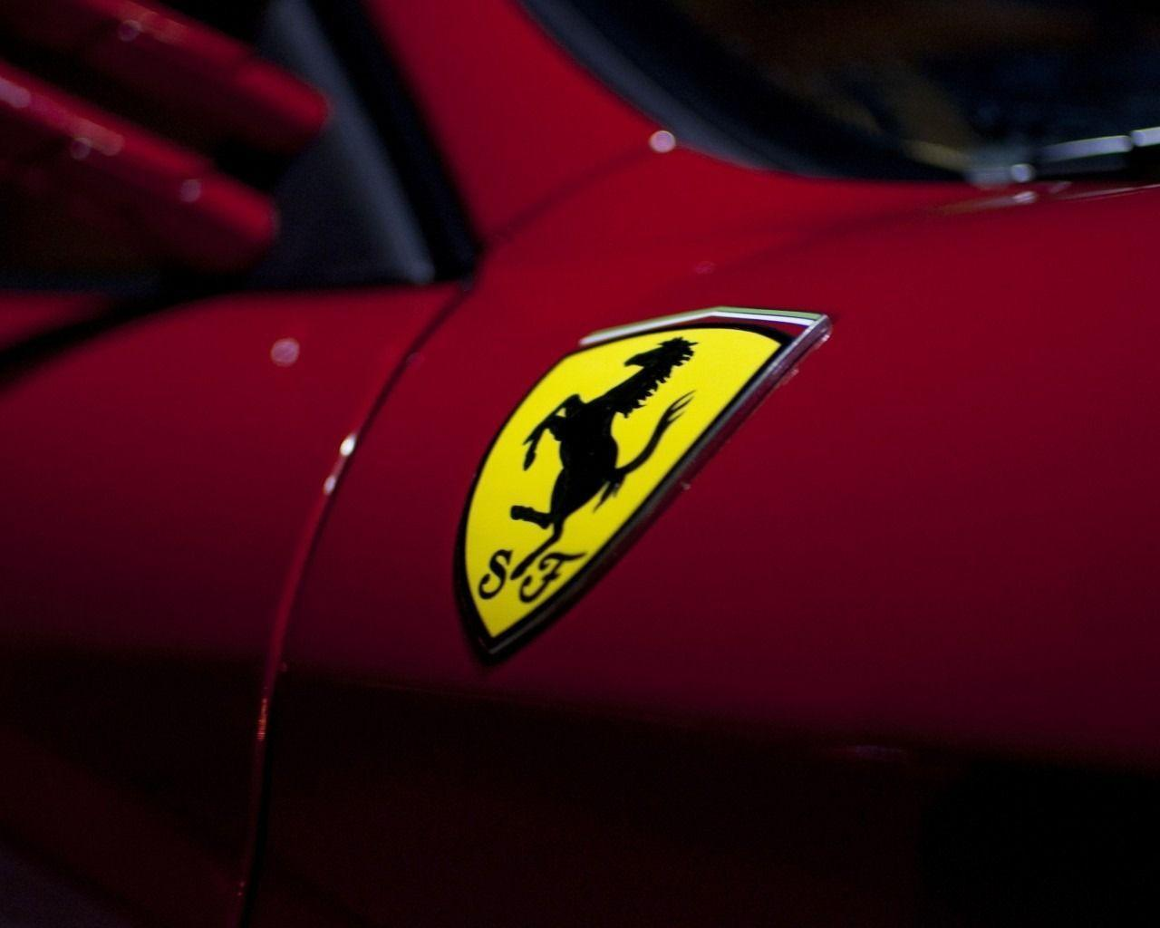 Ferrari Logo Wallpaper | Wallpaper HD | HD Desktop Backgrounds ...