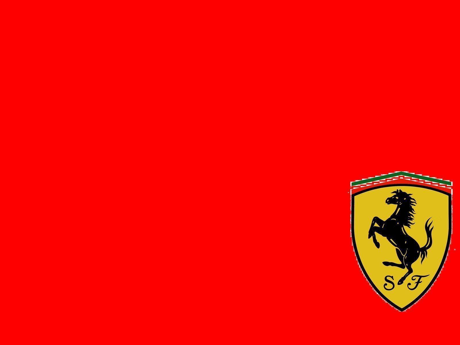 Ferrari Logo Wallpaper 40 Backgrounds | Wallruru.