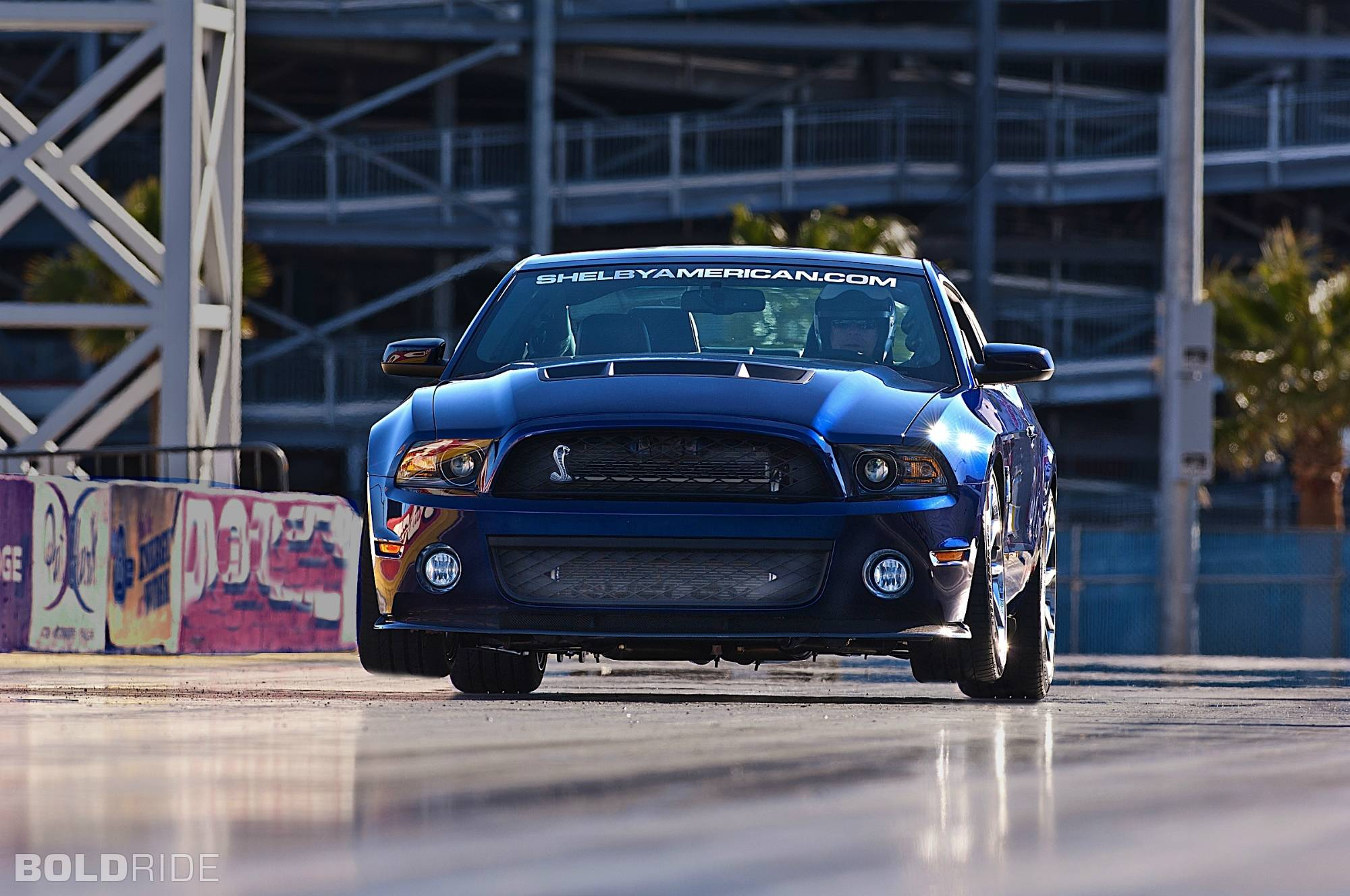 2012 Ford Mustang Shelby 1000 drag racing race car hot rod muscle ...