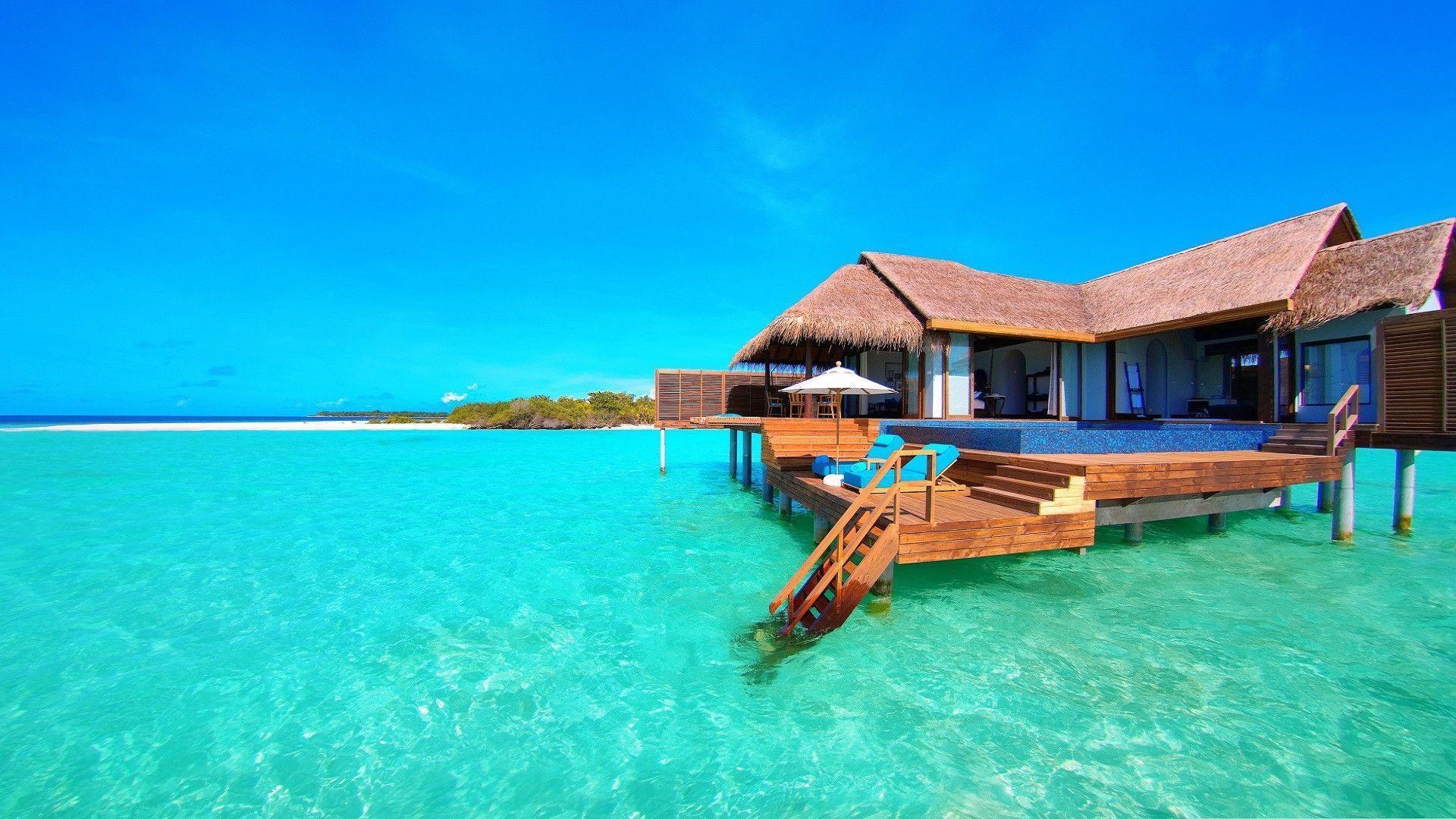 Hd Tropical Island Beach Paradise Wallpapers And Backgrounds: Tropical Island Backgrounds