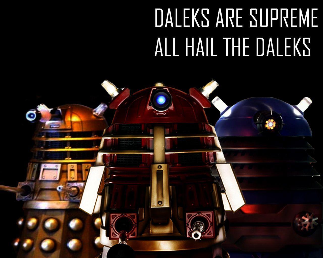 Dalek Wallpapers - Wallpaper Cave