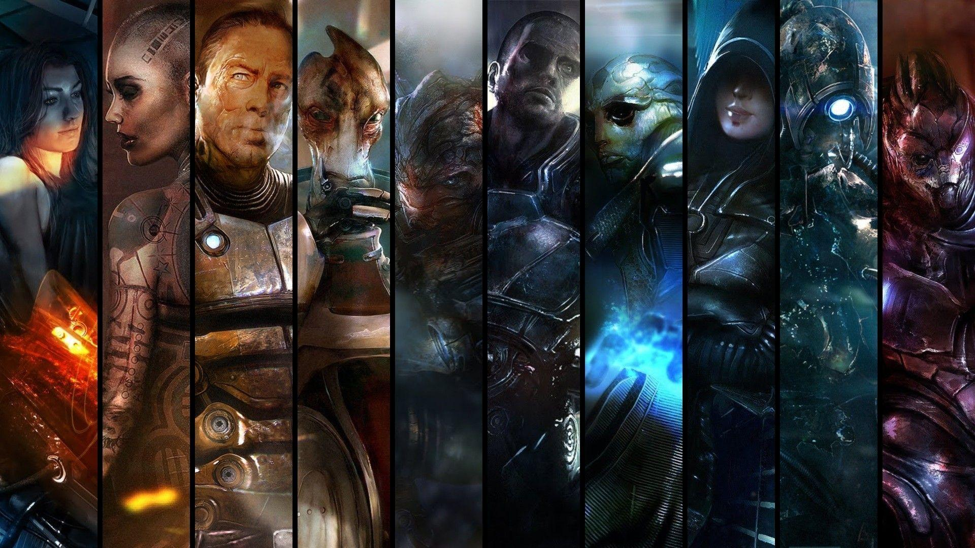 592 Mass Effect Wallpapers