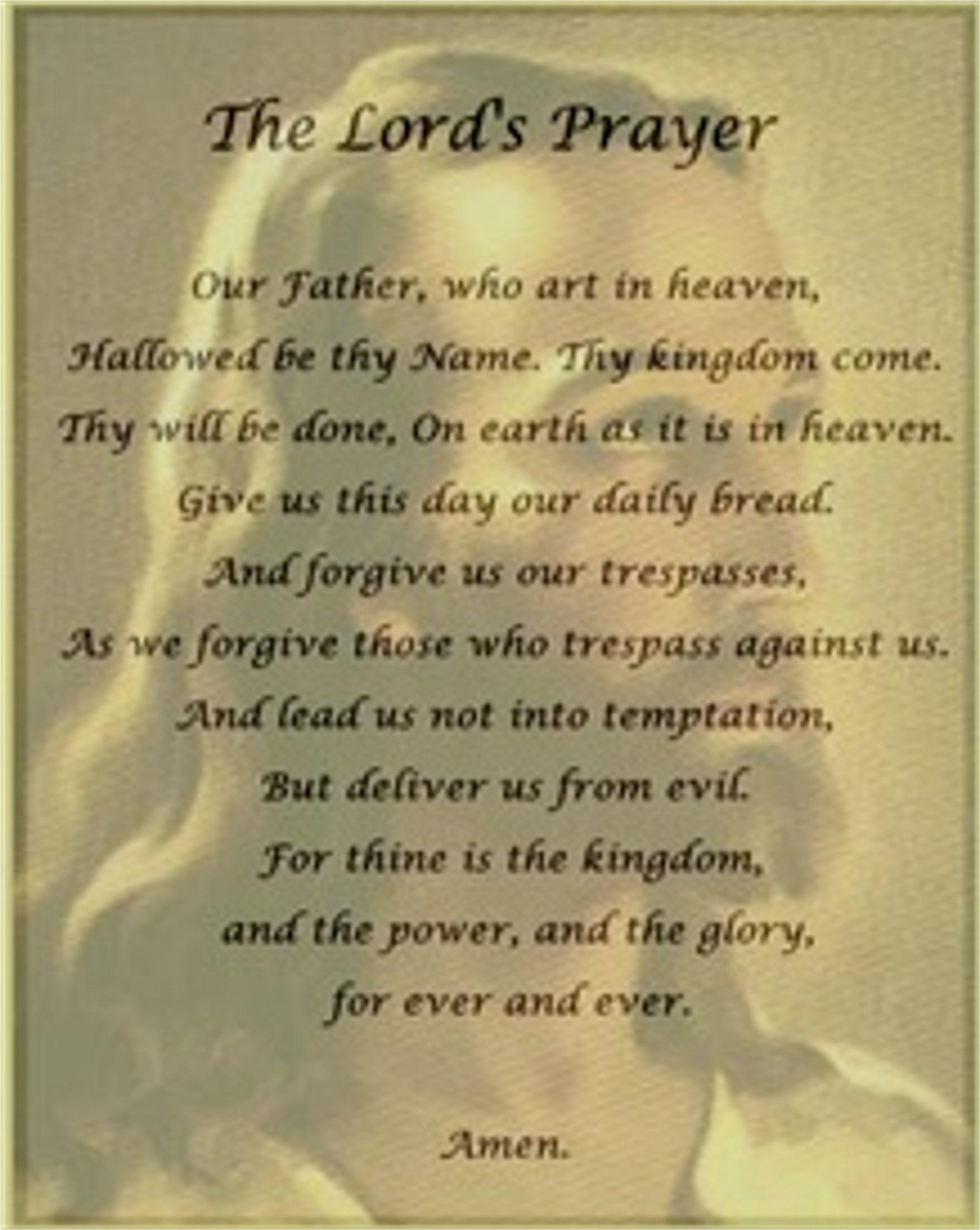 The Lords Prayer Wallpapers