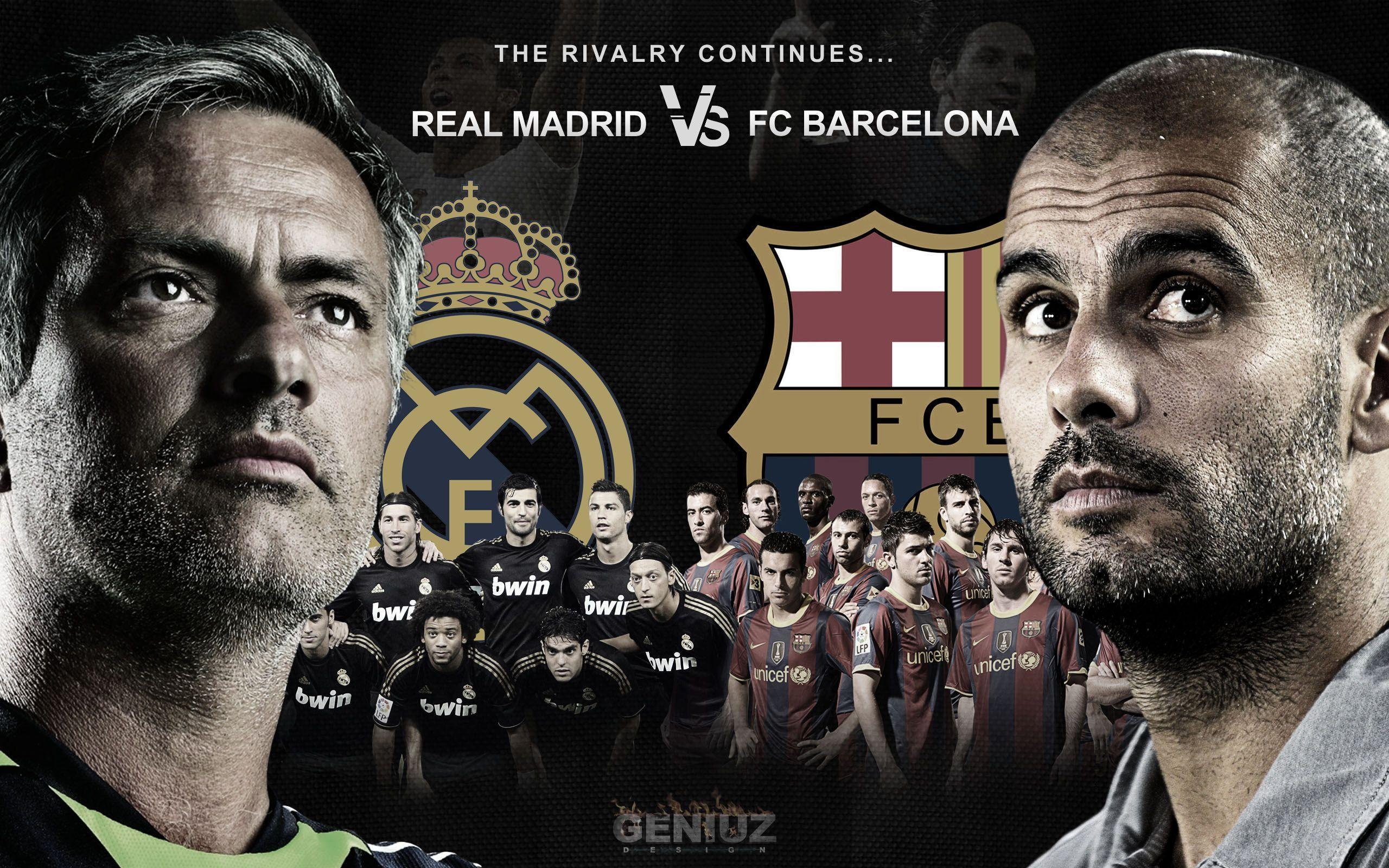 Real Madrid vs FC Barcelona Wallpapers 2560x1600
