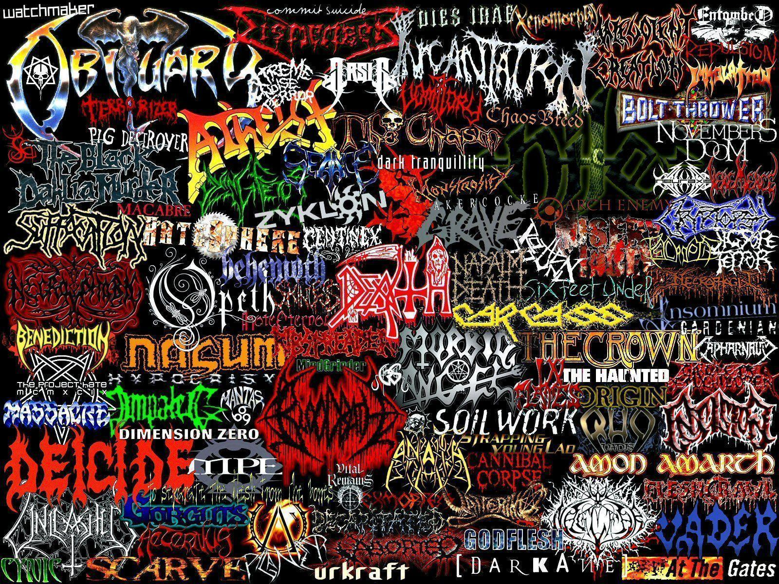 Death Metal Wallpapers - Wallpaper Cave