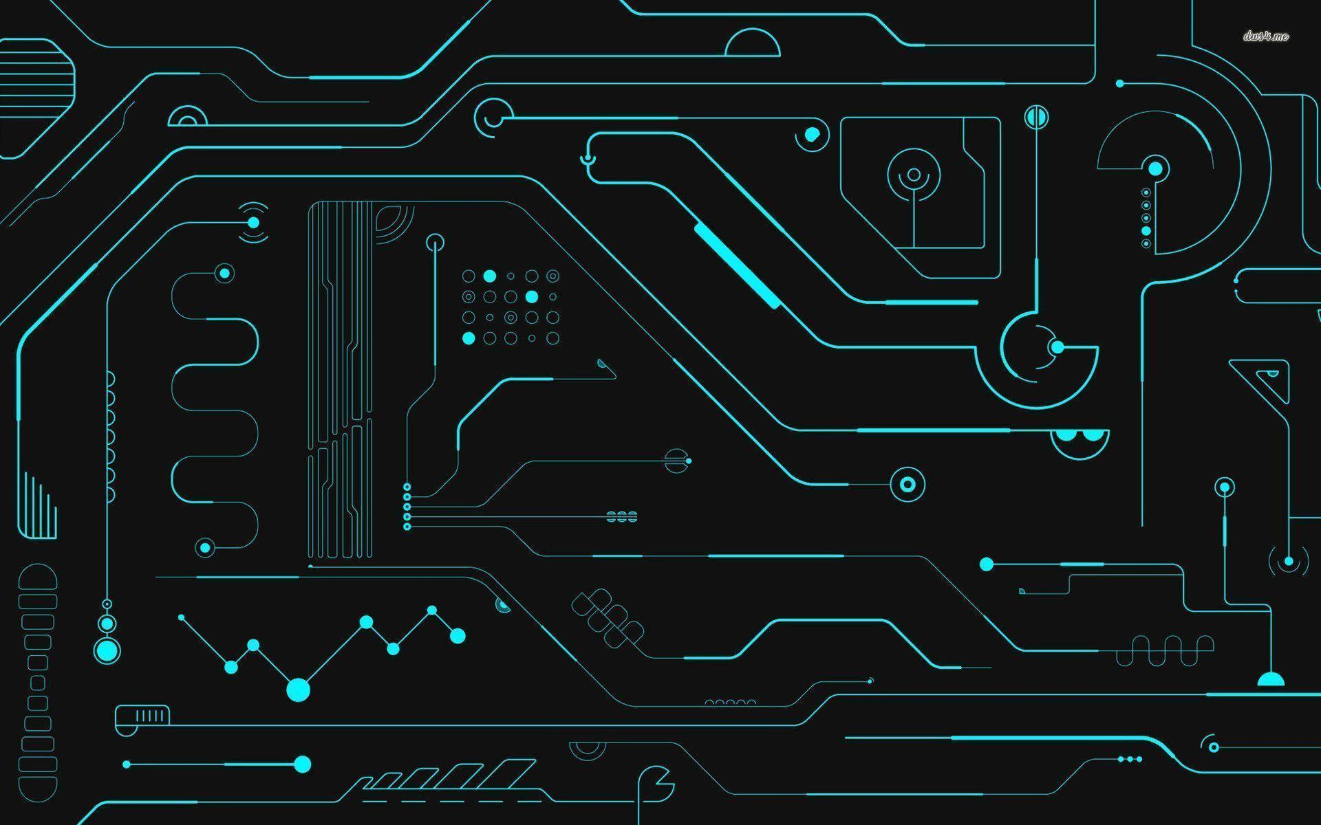 Circuit board wallpapers