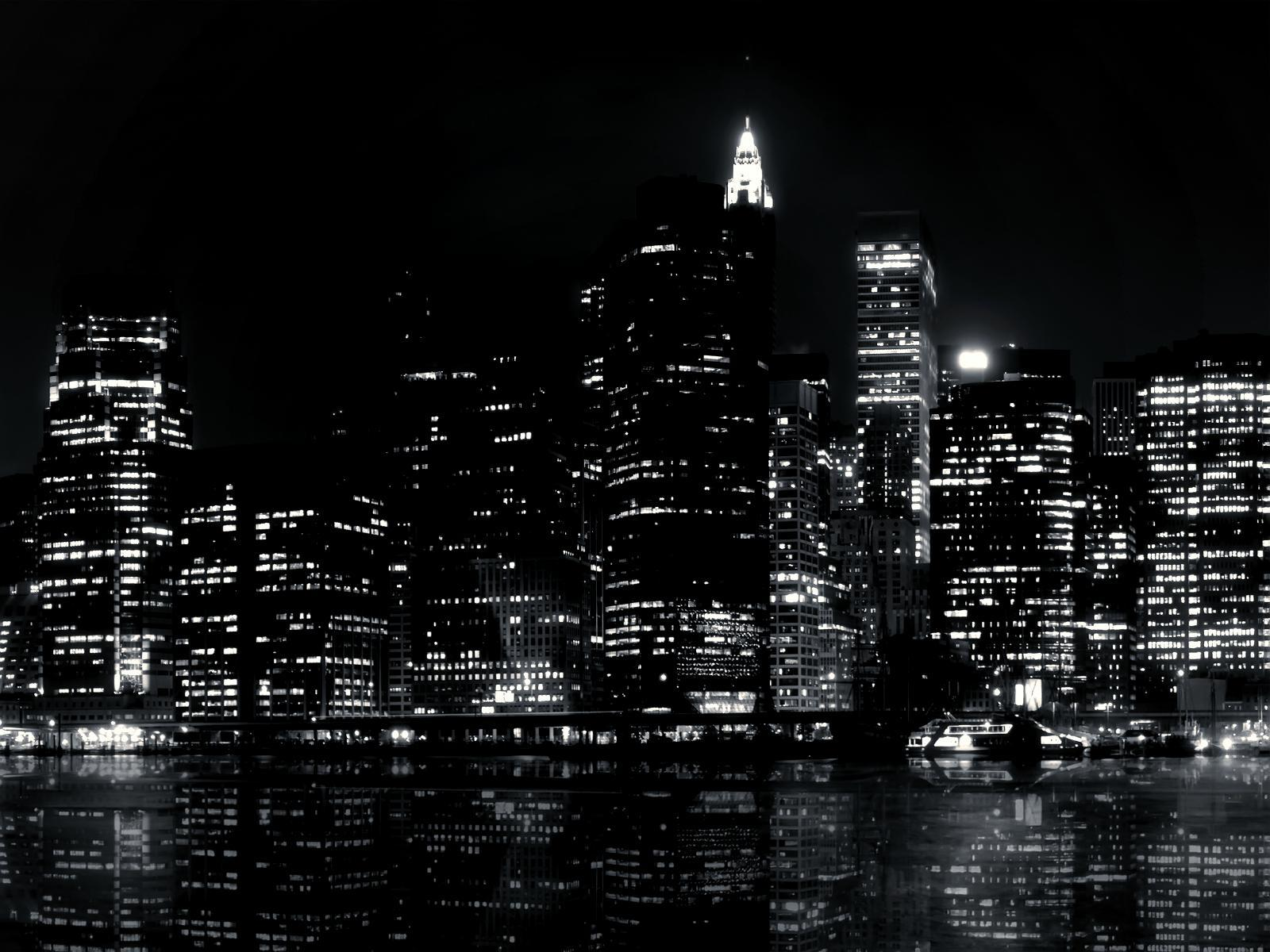 Black And White City Desktop Backgrounds